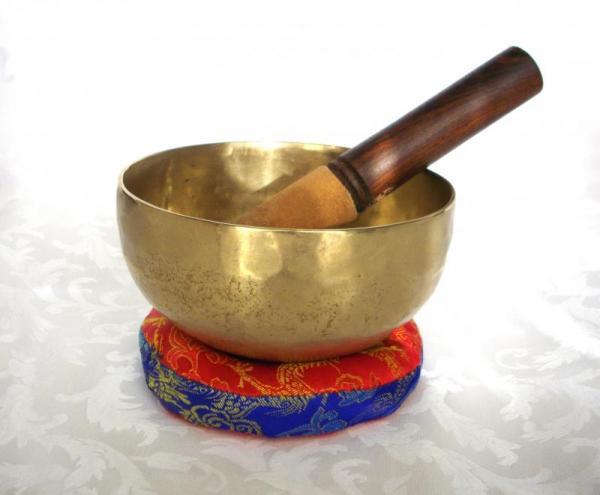 Campana Tibetana Sette Metalli 727gr 16cm Nota Sol diesis La