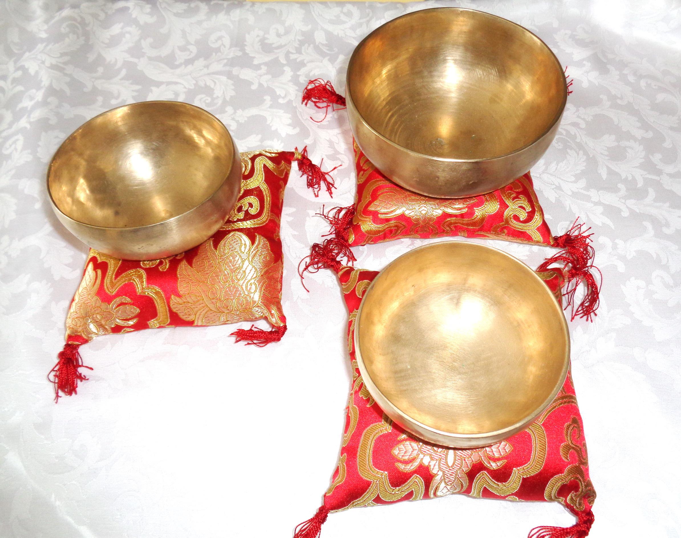 Campane Tibetane Set Meditazione